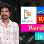 Build online stores with WordPress in Tamil